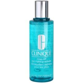 Clinique Rinse-Off odličovač očí pro všechny typy pleti  125 ml