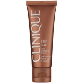 Clinique Self Sun™ autobronceador facial en gel-crema  50 ml