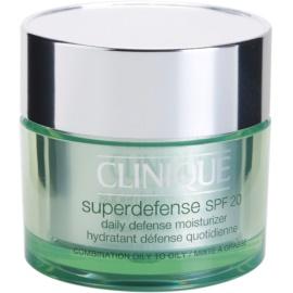 Clinique Superdefense™ денний зволожуючий та захисний крем для комбінованої та жирної шкіри SPF 20  50 мл