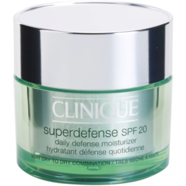 Clinique Superdefense™ crema de día hidratante y protectora  SPF 20  50 ml