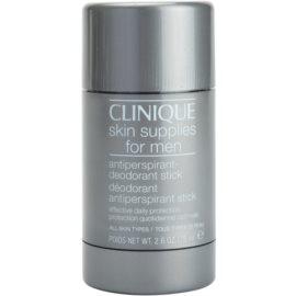 Clinique Skin Supplies for Men tuhý dezodorant pre všetky typy pokožky  75 ml