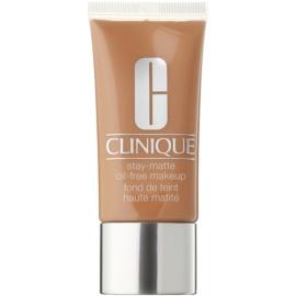 Clinique Stay Matte folyékony make-up kombinált és zsíros bőrre árnyalat 19 Sand 30 ml