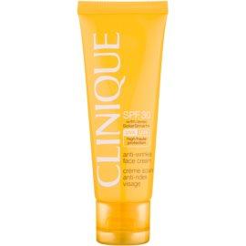 Clinique Sun захисний крем проти зморшок SPF 30  50 мл