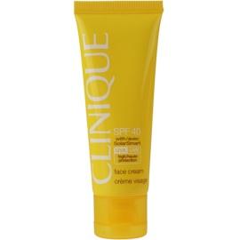 Clinique Sun napozókrém arcra SPF 40  50 ml