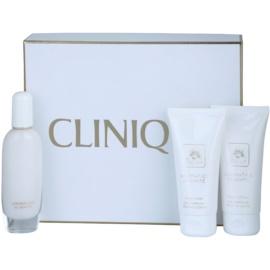 Clinique Aromatics In White Geschenkset I.  Eau de Parfum 50 ml + Körperlotion 75 ml + Duschgel 75 ml