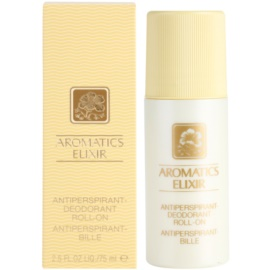 Clinique Aromatics Elixir Deo-Roller für Damen 75 ml