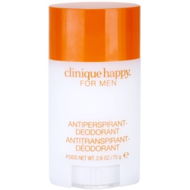 Clinique Happy™ for Men desodorizante em stick para homens 75 ml