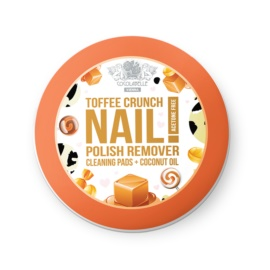 Cocolabelle Fruit Scented & Fabulous Nails Pads zur Nagellackentfernung Toffee Crunch  50 St.