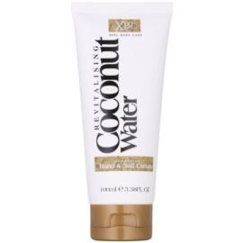 Coconut Water  XBC feuchtigkeitsspendende Creme für Hände und Fingernägel  100 ml