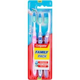 Colgate Extra Clean зубні щіточки medium 3 шт  1 кс