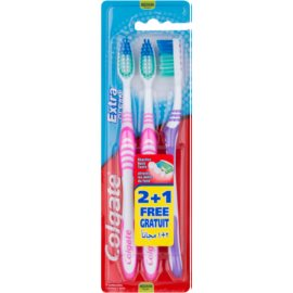 Colgate Extra Clean periuta de dinti Medium 3 pc