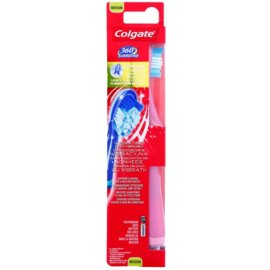 Colgate 360° Surround brosse à dents vibrante à piles medium