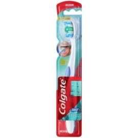 Colgate 360°  Whole Mouth Clean zubná kefka medium