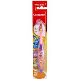 Colgate Kids 2-6 Years zubní kartáček pro děti extra soft