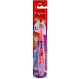 Colgate Kids 6+ Years escova de dentes para crianças soft