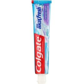 Colgate Max Fresh Intense Foam Zahnpasta zur gründlichen Zahnreinigung Geschmack Effervescent Mint 75 ml
