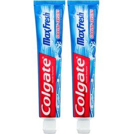 Colgate Max Fresh Cooling Crystals Zahnpasta für frischen Atem Geschmack Cool Mint 2 x 75 ml