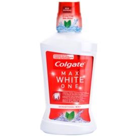 Colgate Max White One enjuague bucal sin alcohol sabor  Sensational Mint 500 ml
