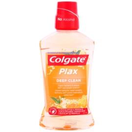 Colgate Plax Deep Clean antibakteriális szájvíz a friss leheletért Eucaliptus & Propolis  500 ml