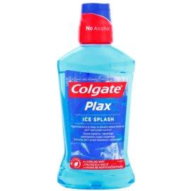 Colgate Plax Ice Splash antibakteriální ústní voda pro svěží dech příchuť Cooling Mint  500 ml