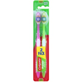 Colgate Premier White escovas de dentes média 2 pçs