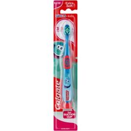 Colgate Smiles Kids zubní kartáček s přísavkou pro děti extra soft