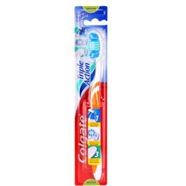 Colgate Triple Action escova de dentes medium  Orange