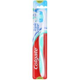 Colgate Triple Action escova de dentes medium  Green