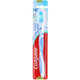 Colgate Triple Action Zahnbürste Medium Blue