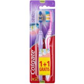 Colgate Zig Zag medium fogkefék 2 db