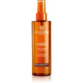 Collistar Sun No Protection ulei pentru plaja fara factor de protectie  200 ml