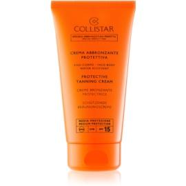 Collistar Sun Protection crema protettiva abbronzante SPF 15  150 ml