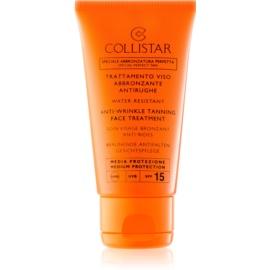 Collistar Sun Protection napozó krém a bőr öregedése ellen SPF15  50 ml