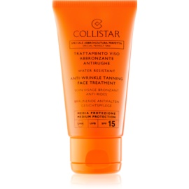 Collistar Sun Protection αντηλιακή κρέμα κατά της γήρανσης της επιδερμίδας SPF15  50 μλ