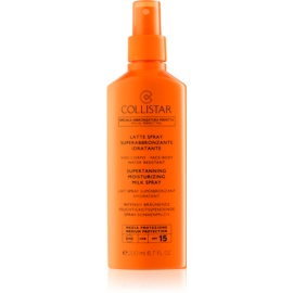 Collistar Sun Protection Suntan Milk Spray SPF 15  200 ml