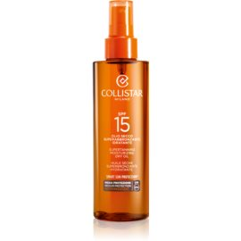 Collistar Sun Protection olio abbronzante SPF 15  200 ml