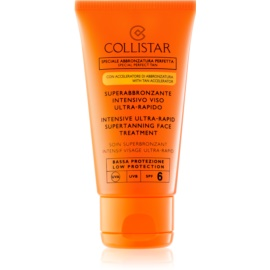 Collistar Sun Protection crema abbronzante viso SPF 6  50 ml