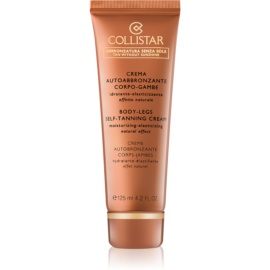 Collistar Tan Without Sunshine creme autobronzeador para pés e corpo  125 ml