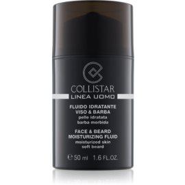 Collistar Man hydratační fluid na obličej a vousy  50 ml