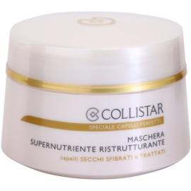 Collistar Speciale Capelli Perfetti máscara restauradora nutritiva para o cabelo seco e frágil  200 ml