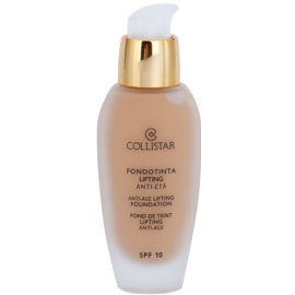 Collistar Foundation Anti-Age Lifting make-up s liftingovým účinkem SPF 10 odstín 3 Cappuccino 30 ml