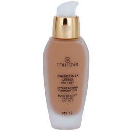 Collistar Foundation Anti-Age Lifting make-up s liftingovým účinkem SPF 10 odstín 4 Beige Scuro 30 ml