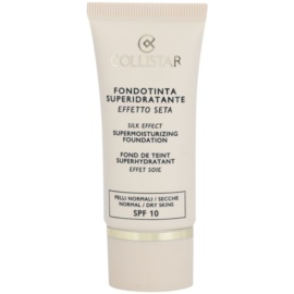 Collistar Foundation Supermoisturizing Hydratisierendes Make Up SPF 10 Farbton 3 Peach 30 ml