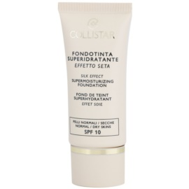 Collistar Foundation Supermoisturizing hidratantni make-up SPF 10 nijansa 5 Cognac 30 ml
