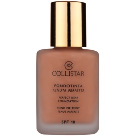 Collistar Foundation Perfect Wear vodootporni tekući puder SPF 10 nijansa 5 Cappuccino  30 ml