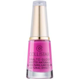 Collistar Smalto Gloss lac de unghii natural culoare 695 Bouganville 6 ml