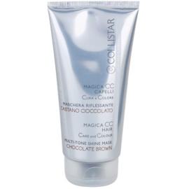 Collistar Magica CC odżywcza maseczka tonująca do włosów ciemnobrązowych i jasnobrązowych  150 ml
