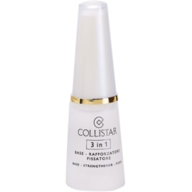 Collistar Nails Base lac pentru intarirea unghiilor 3 in 1  10 ml