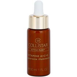 Collistar Pure Actives sérum ativo para regeneração e renovação de pele  30 ml
