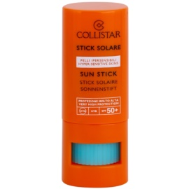 Collistar Sun Protection lokalna nega proti sončnemu sevanju SPF 50+ Sun Stick Maximum Protection 8 ml